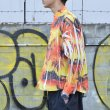 画像2: 【40% OFF】doublet / COMPRESSED ALOHA SHIRT IN THE HANGER MOLD (SUNSET) (2)
