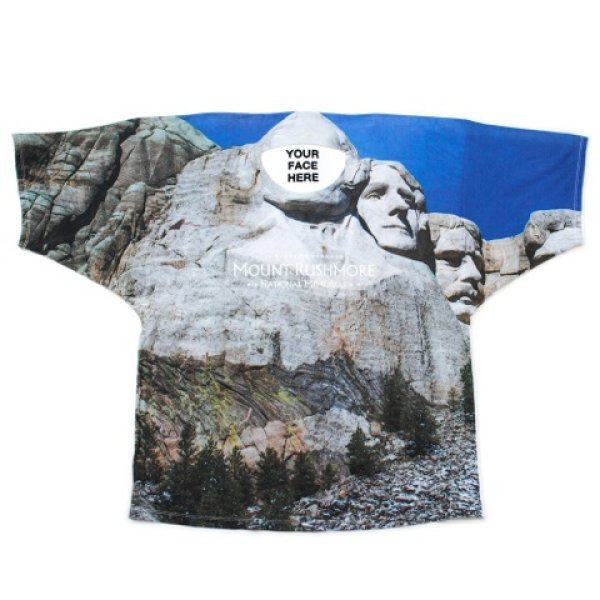 画像1: doublet / FACEOUT TOURIST T-SHIRT(RUSHMORE) (1)
